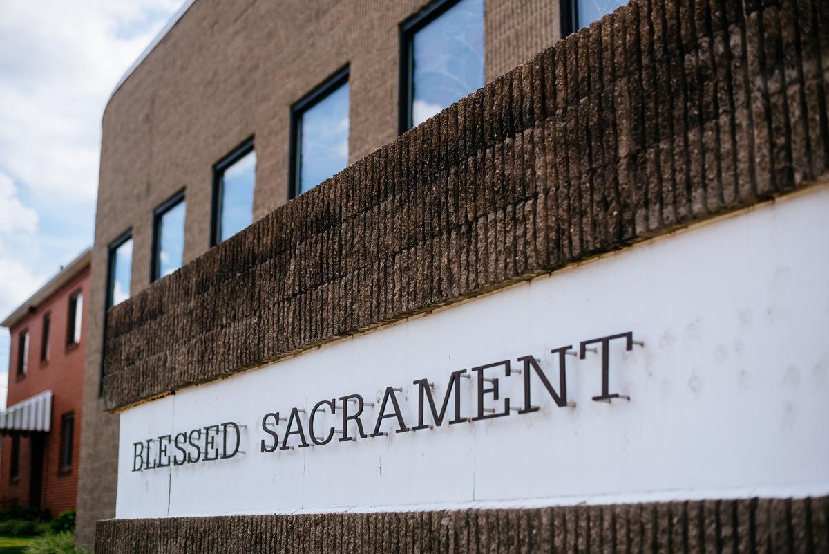 blessed sacrament church charleston wv