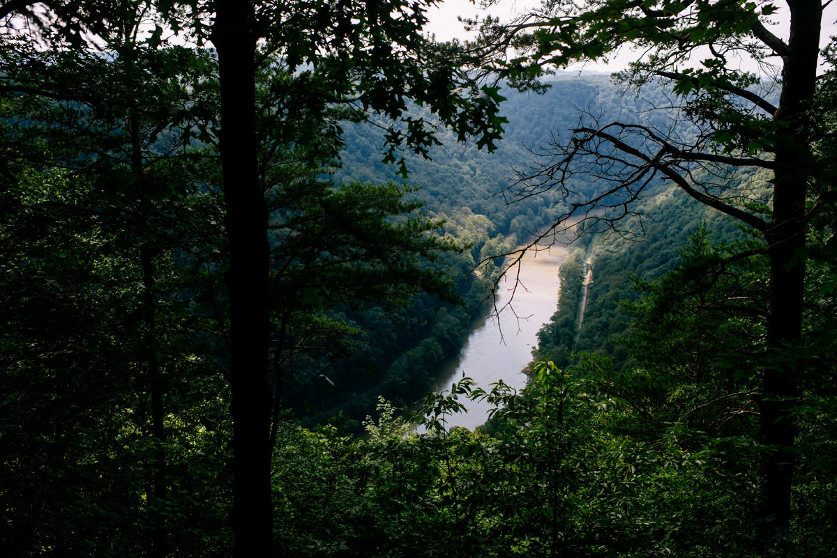 adventures on the gorge new river view