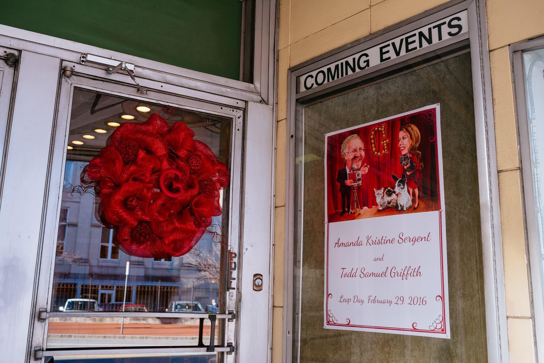 charleston wv wvsu capitol theater wedding