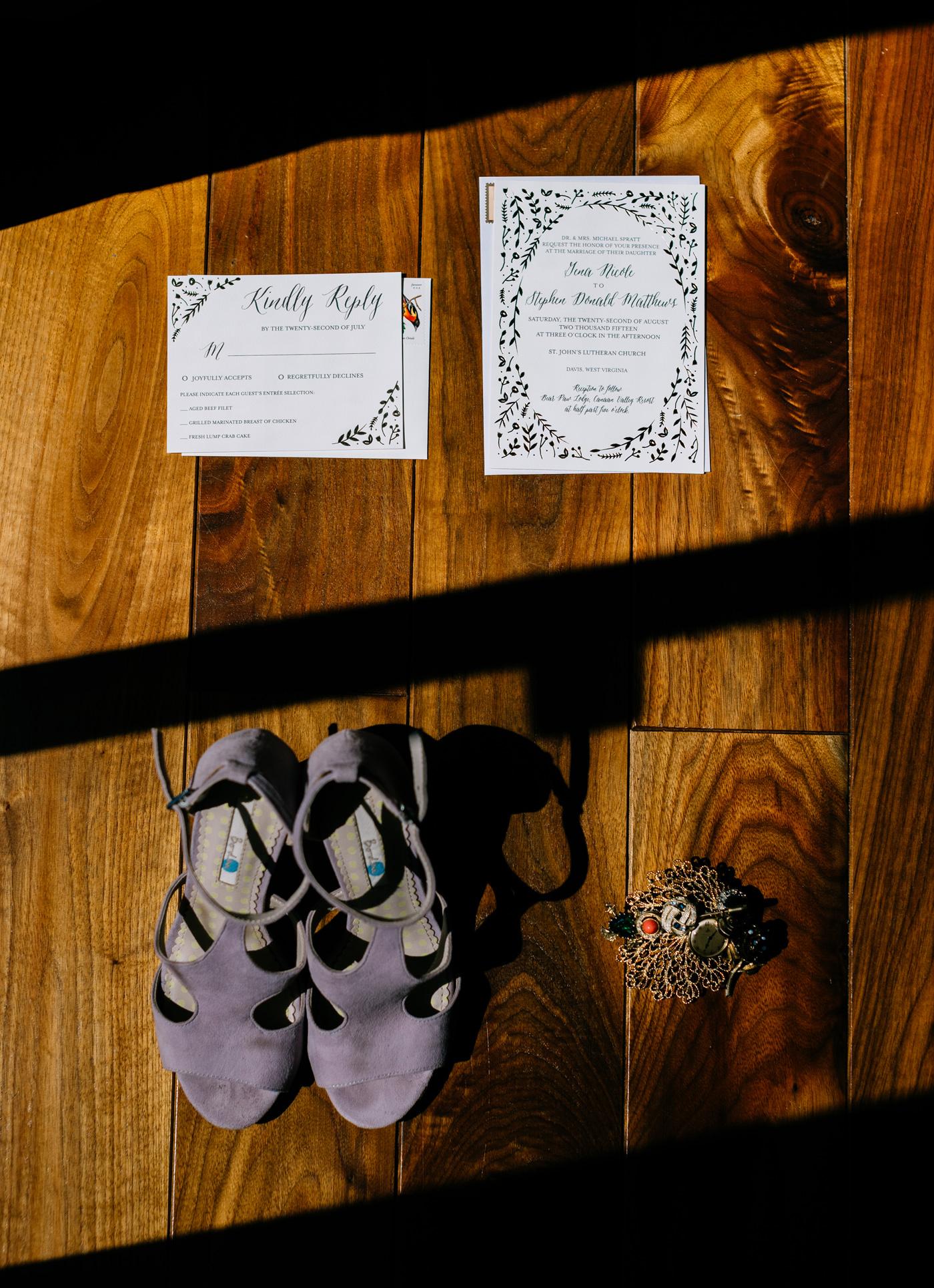 wv wedding details