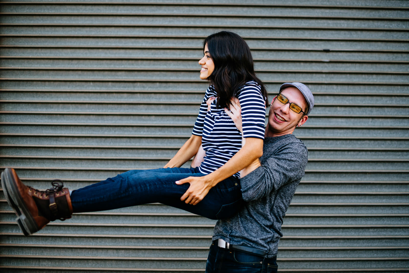 silly wv engagement photography