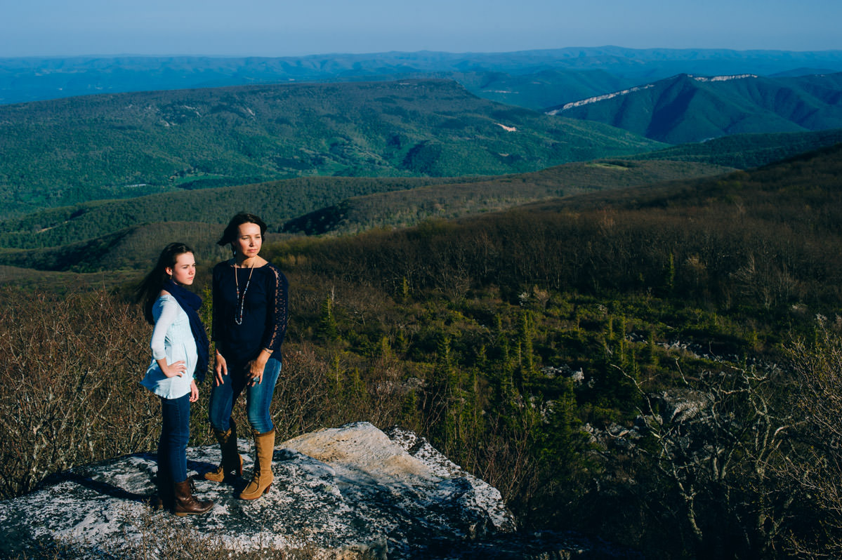 wild and wonderful best west virginia family photos on the mountains