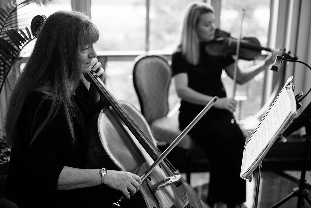 string quartet at wedding ceremony charleston wv