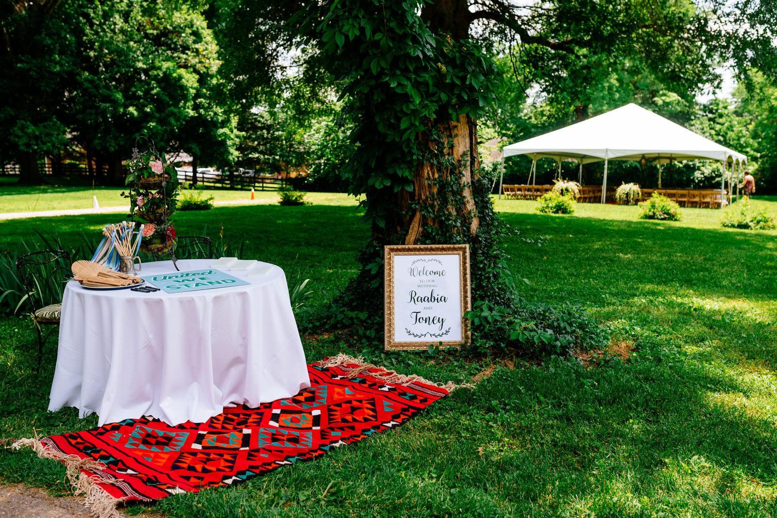 welcome table holly hill inn wedding lexington ky