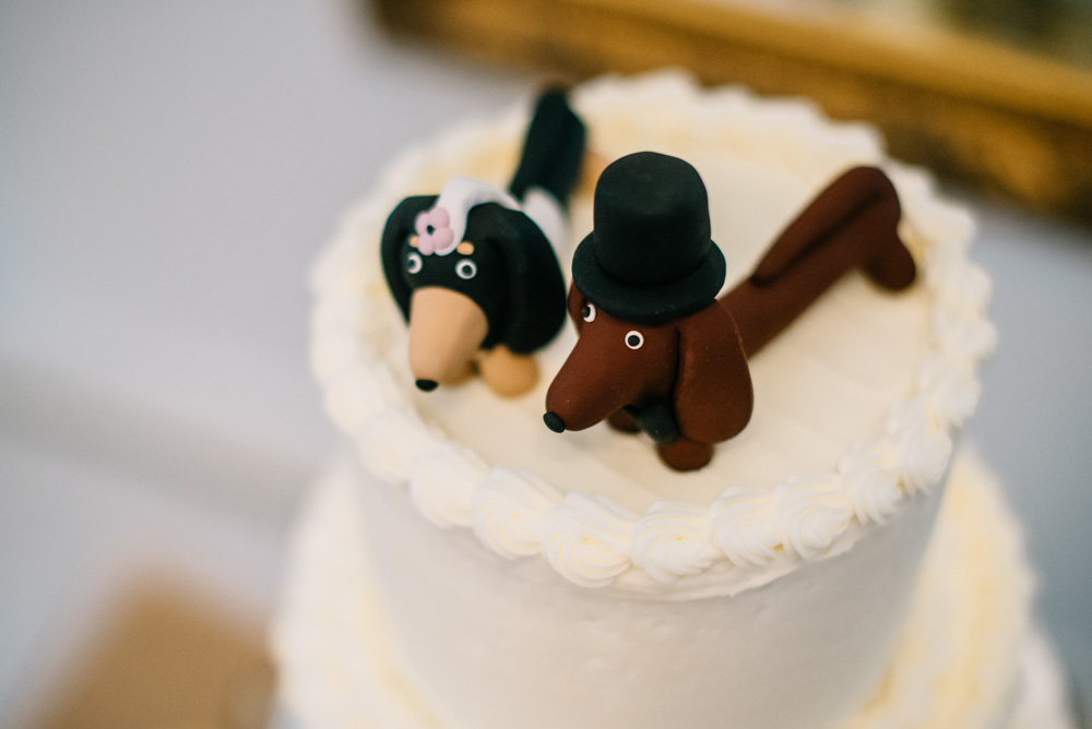wiener dog cake toppers