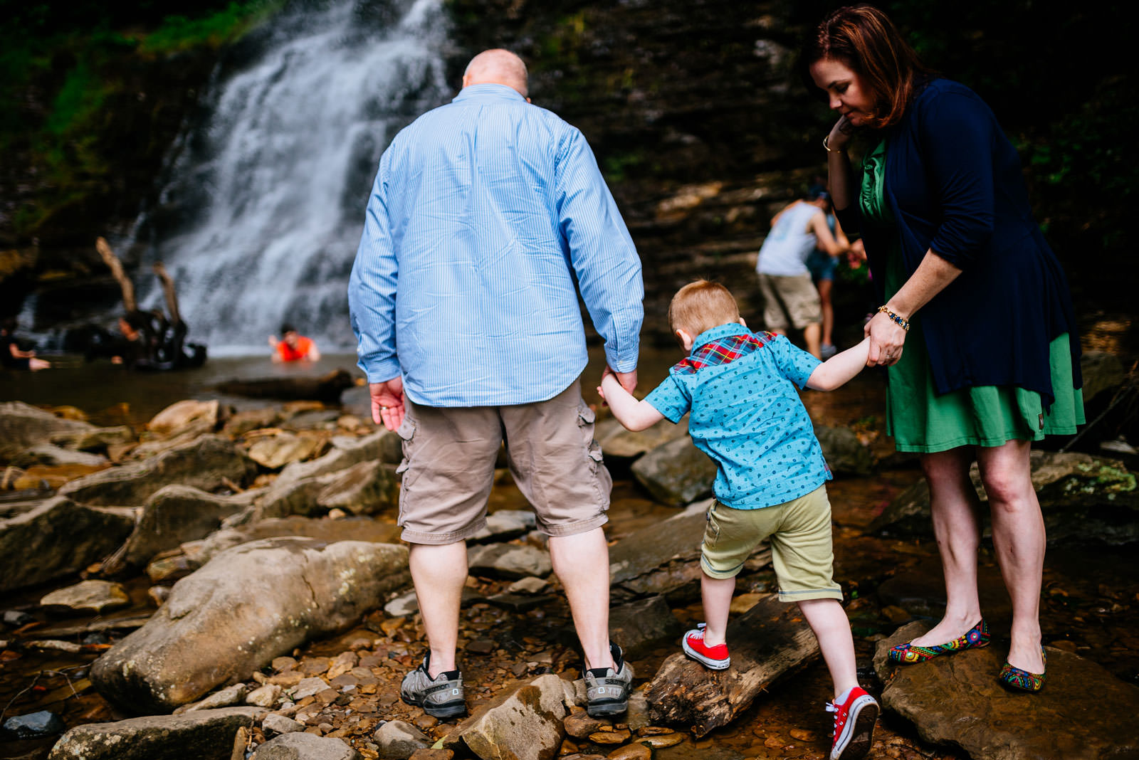 cathedral falls wv family portraits