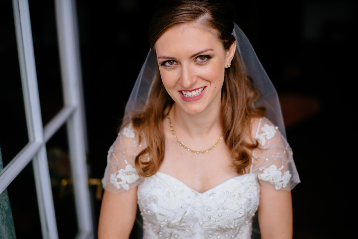 west virginia wedding bridal portrait