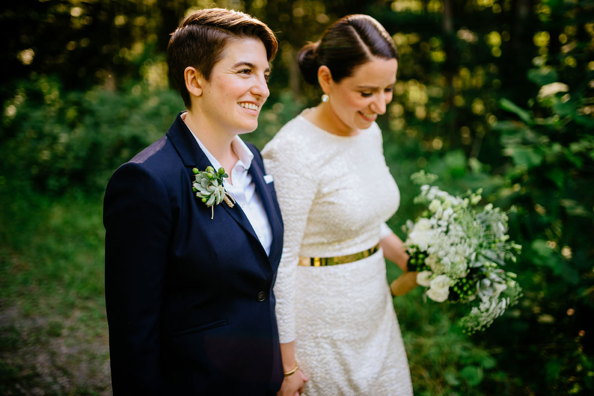 same sex wedding portraits at the confluence resort in hico wv