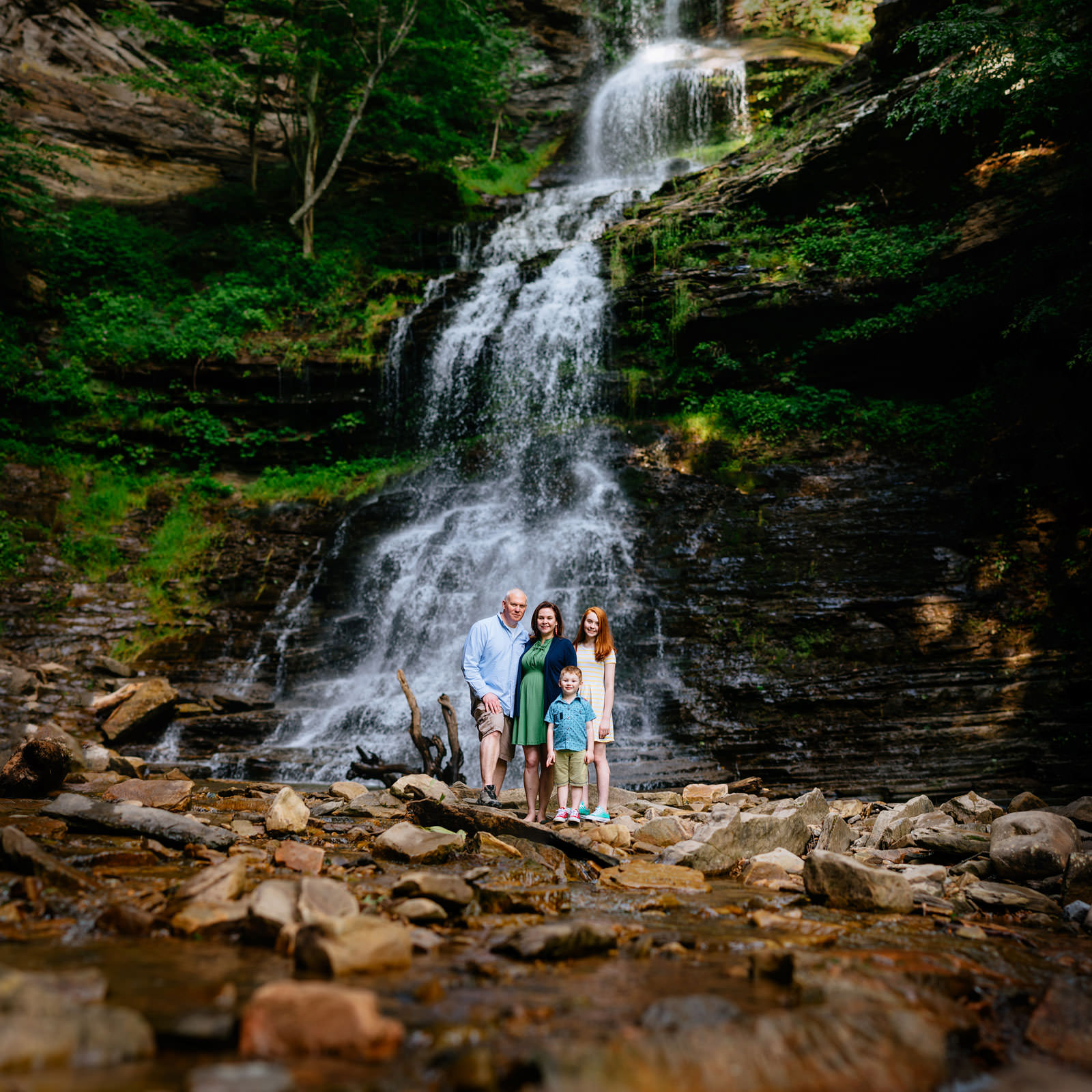 best wv photographers cathedral falls family portraits