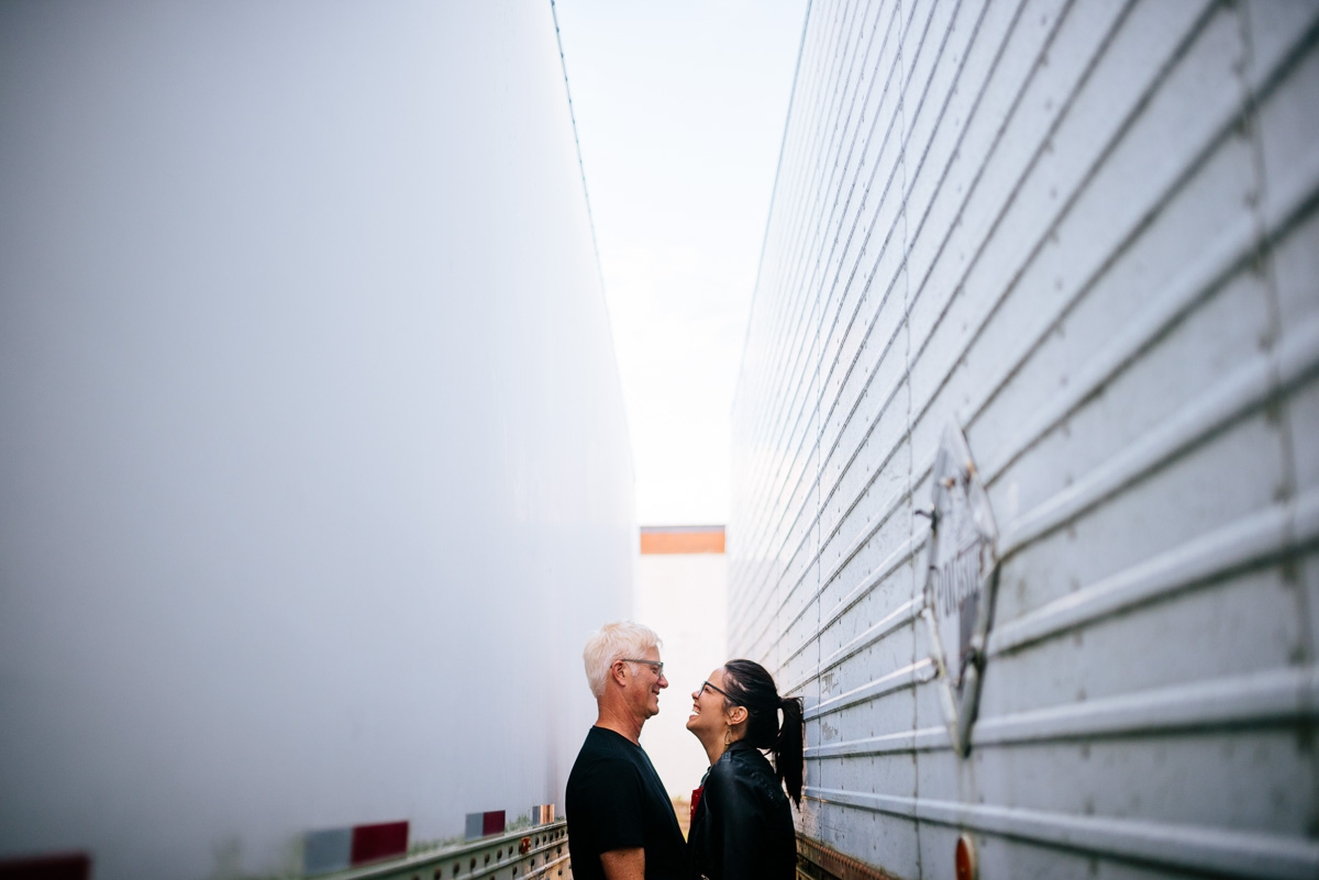 industrial engagement session charleston wv
