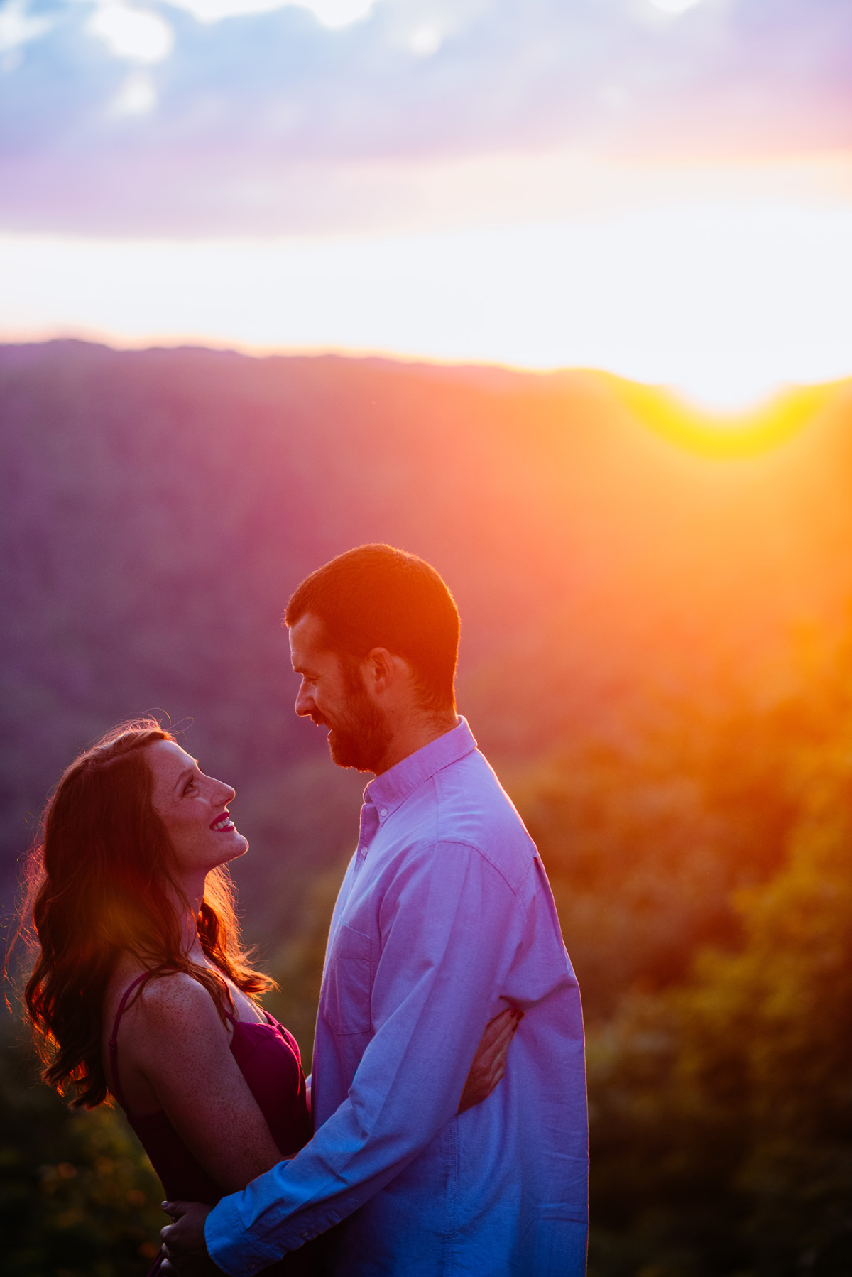 new river gorgeous engagement session 1