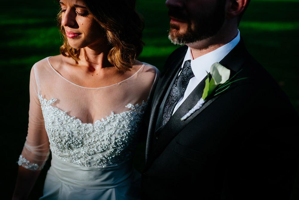 moody light wv wedding portrait