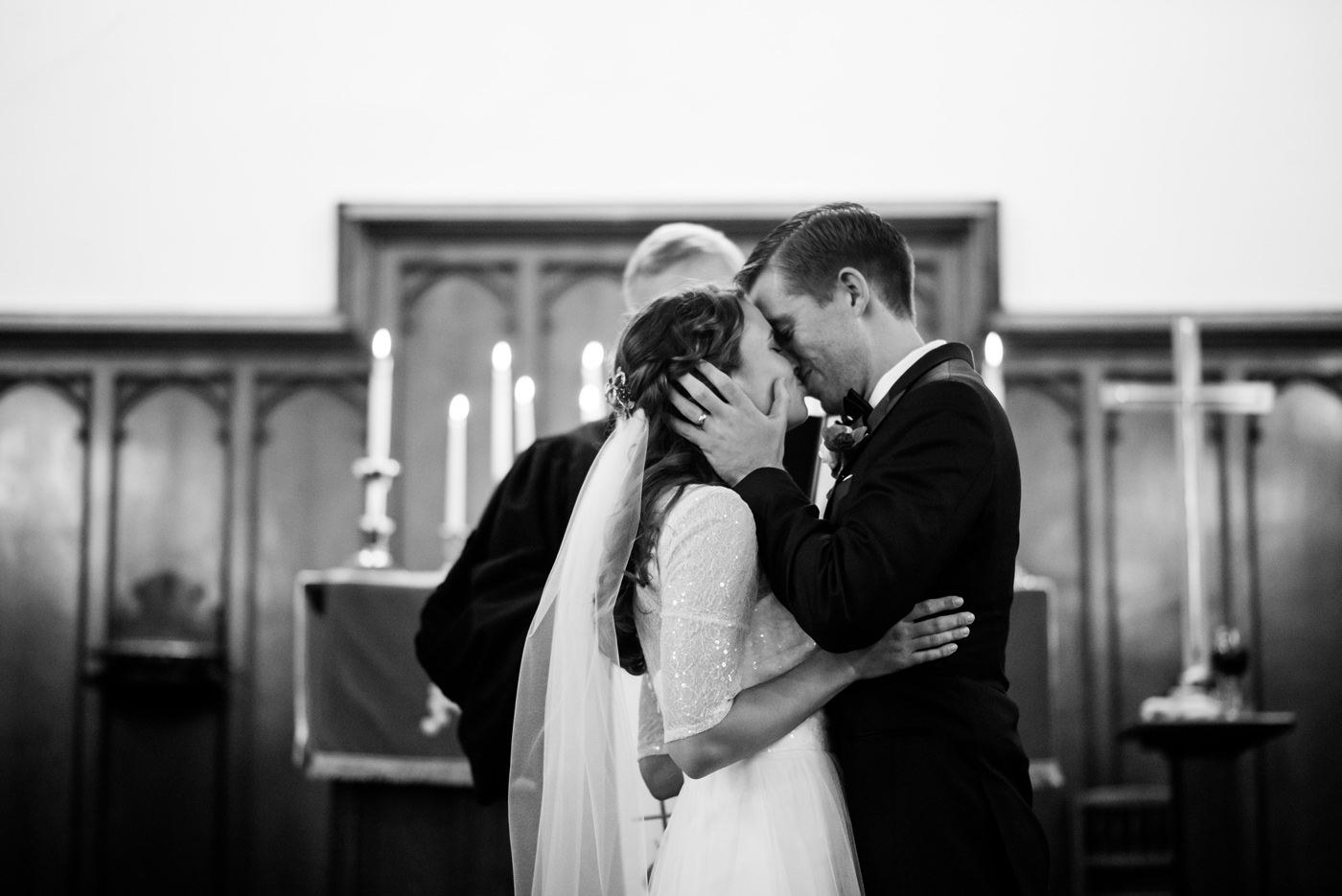 first kiss wv wedding