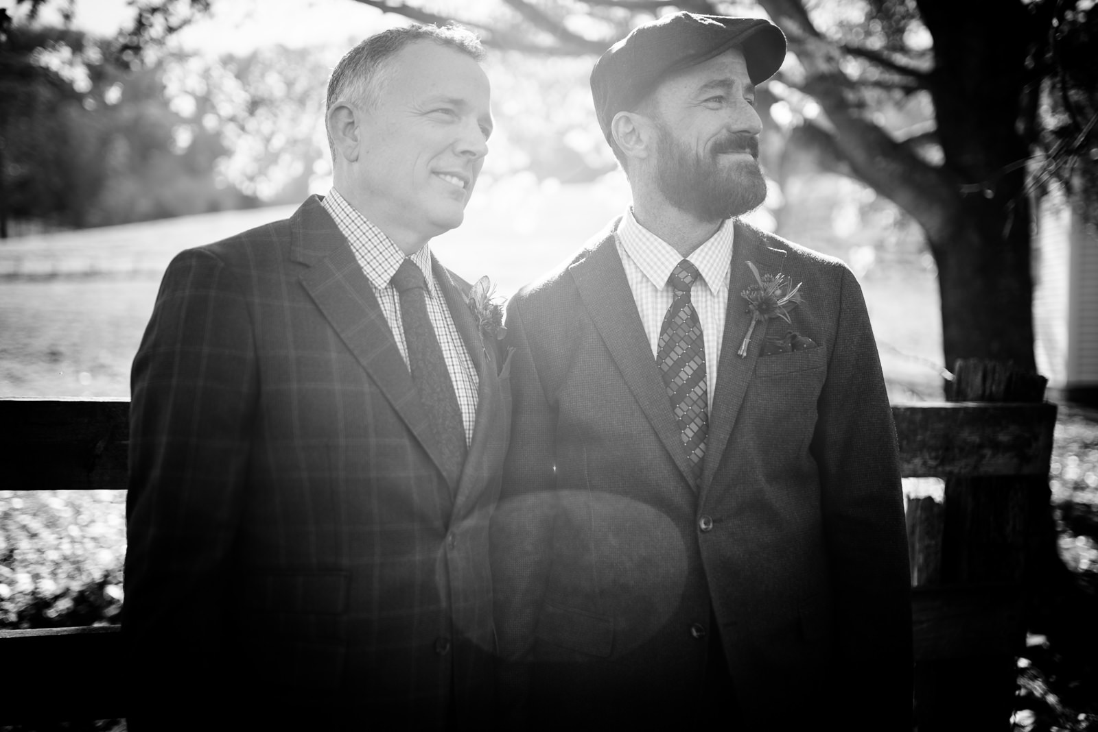 groom portraits same sex wedding west virginia