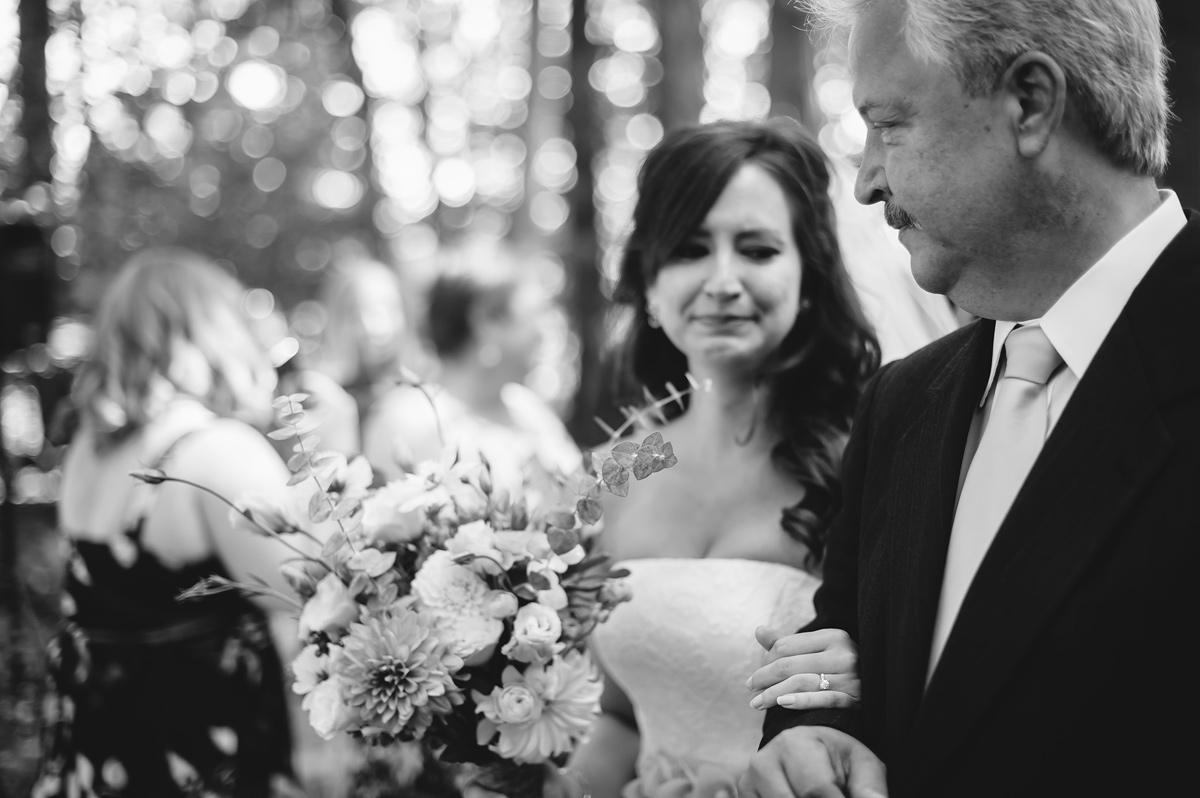 030b emotional bride walking down aisle