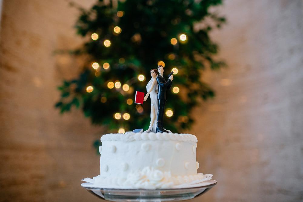 secret agent cake topper