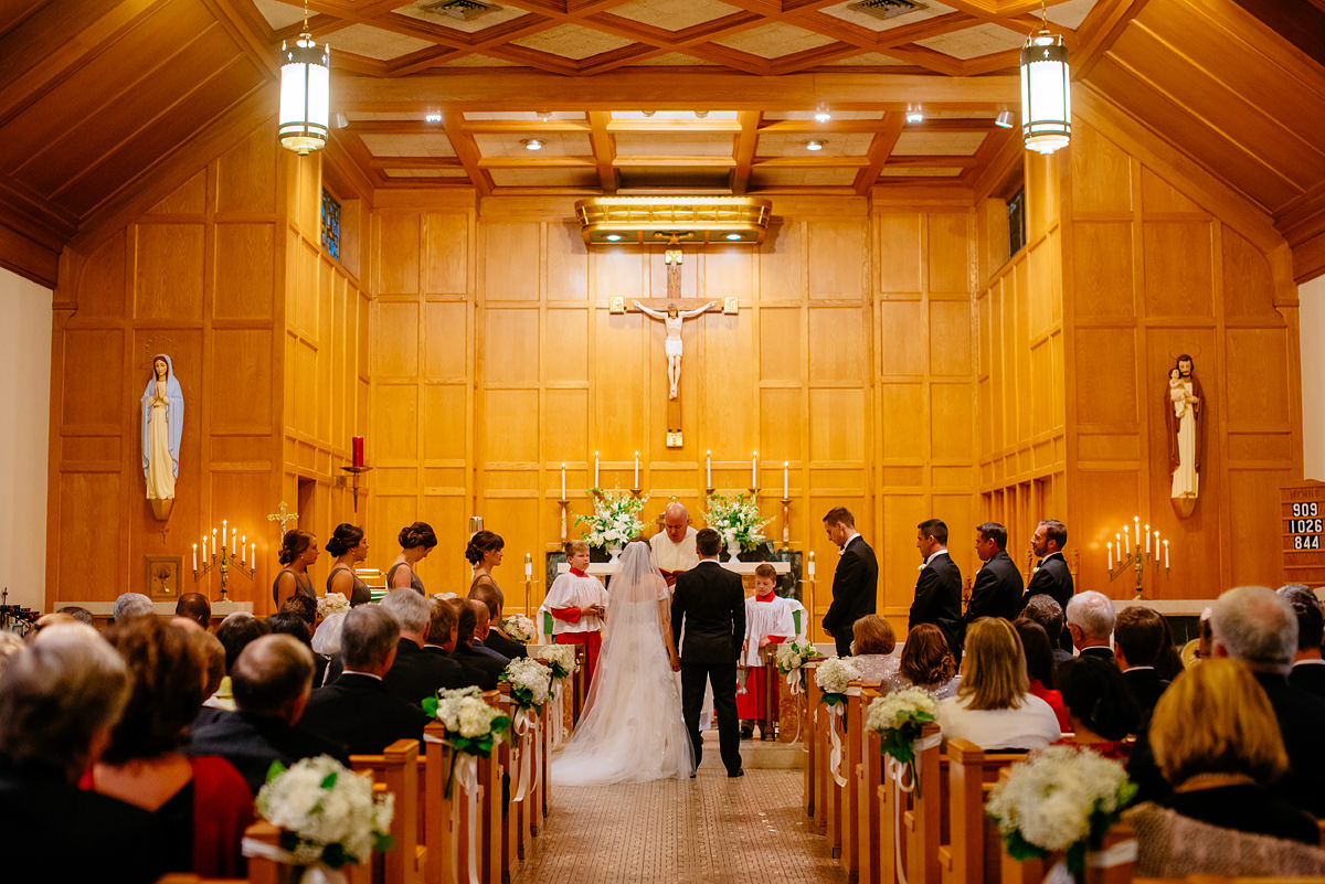 borromeo catholic church wedding ceremony