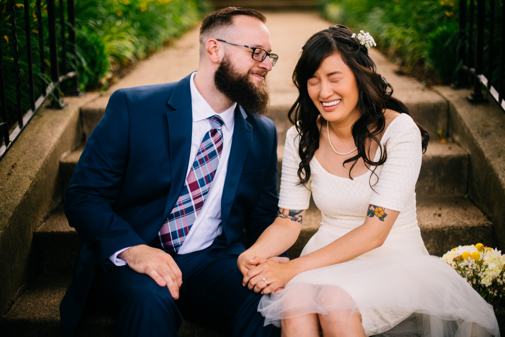 west virginia bride and groom