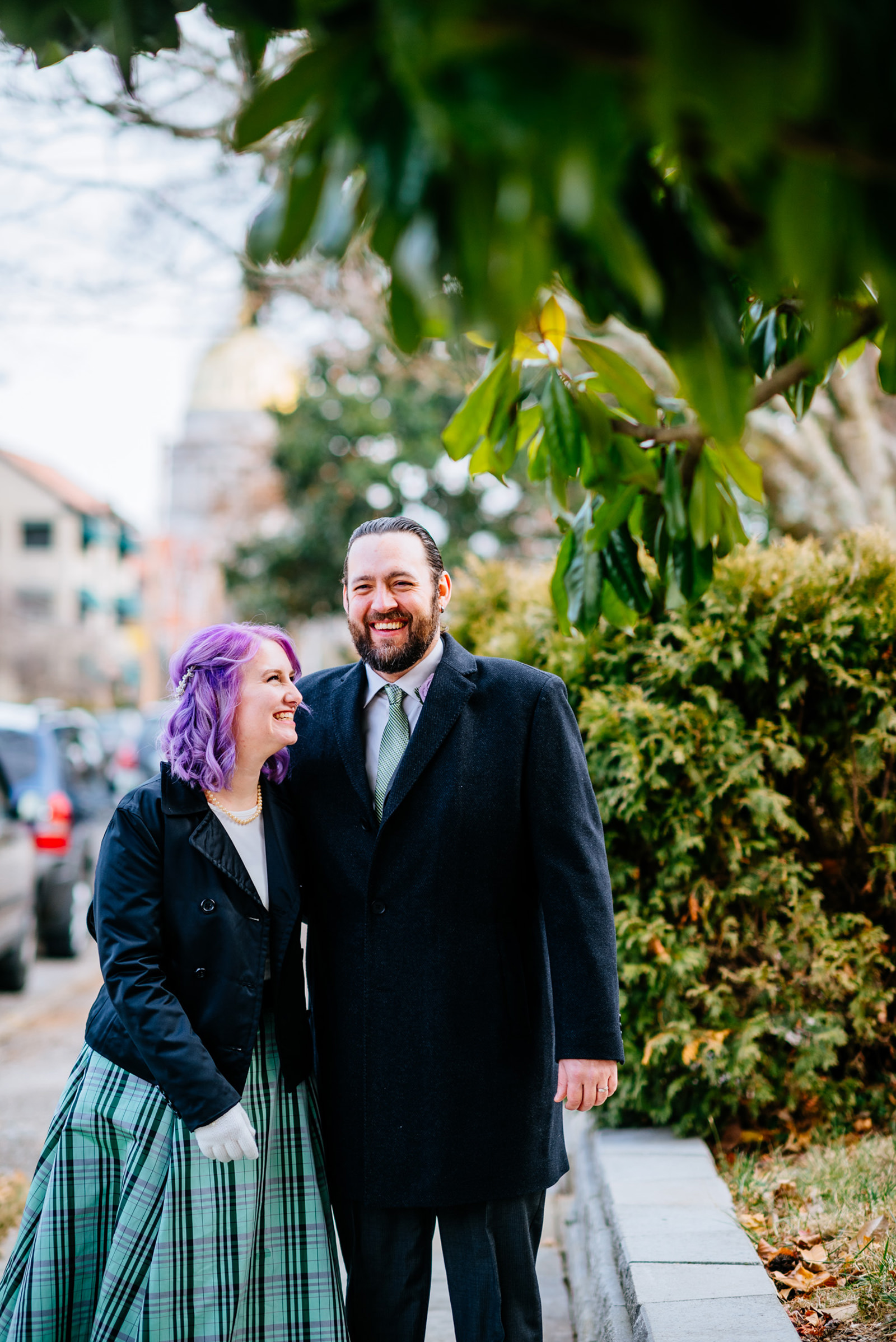 east end charleston wv winter wedding