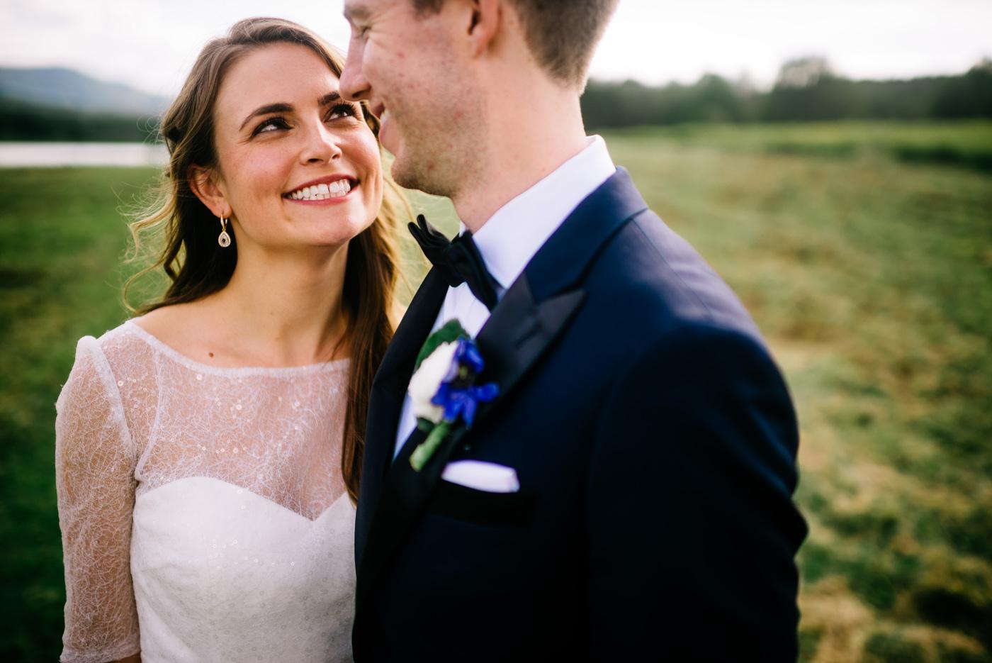 happy bride west virginia
