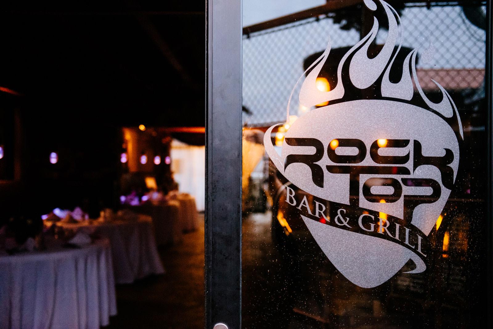 rock top bar wedding reception morgantown west virginia