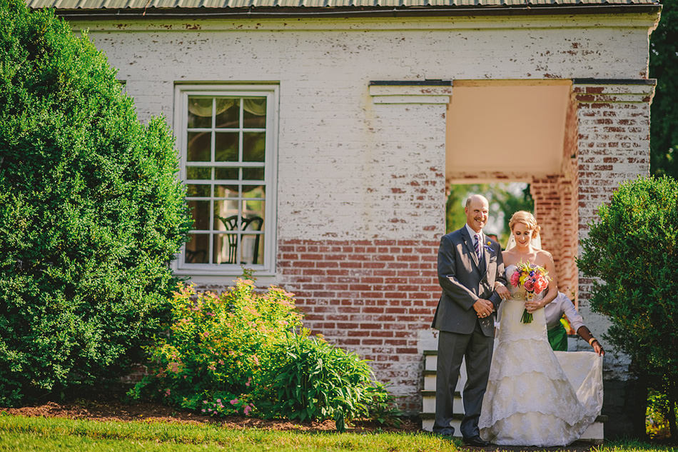 lewisburg swift level farm wedding ceremony