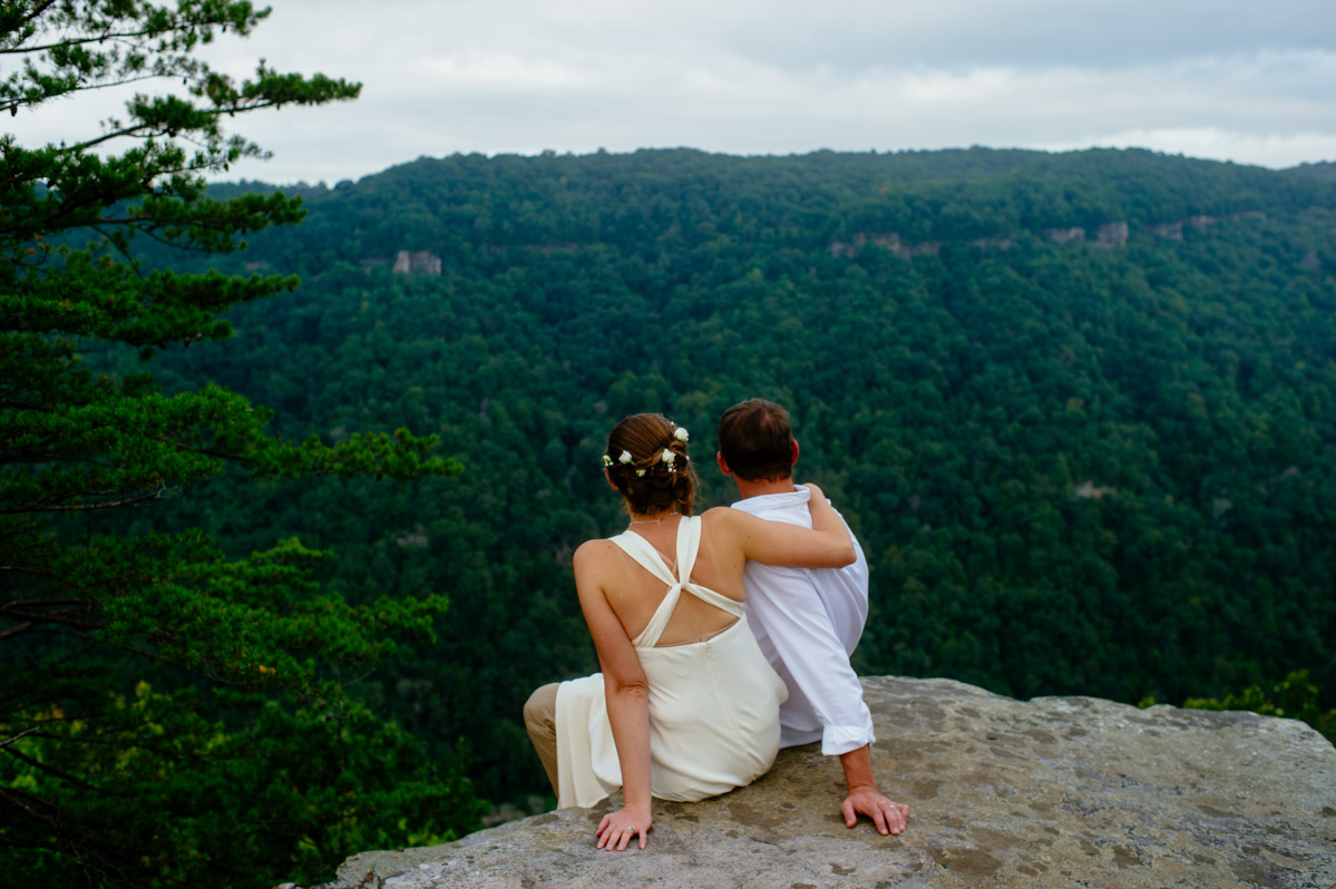 wedding photojournalism new river gorge wv by the oberports