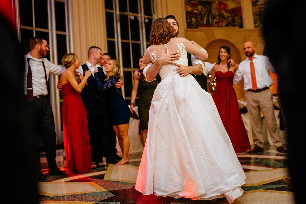 university of charleston wedding reception final dance