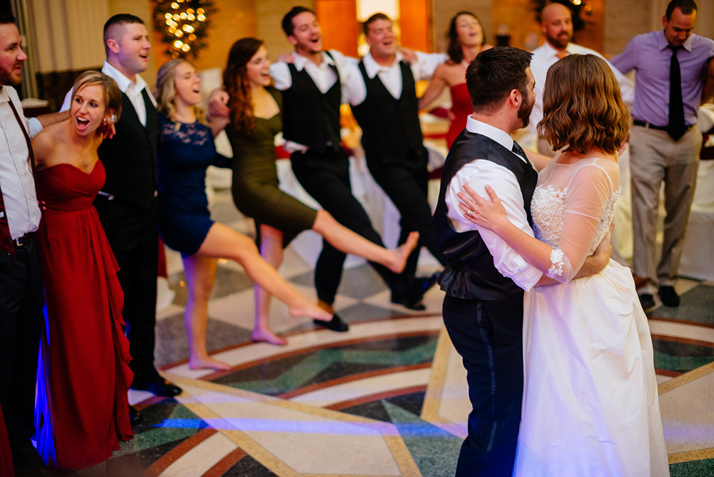 uc wedding reception last dance