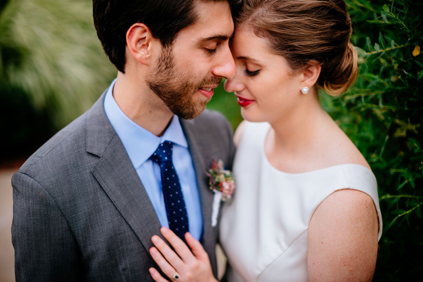 pittsburgh bride and groom portraits