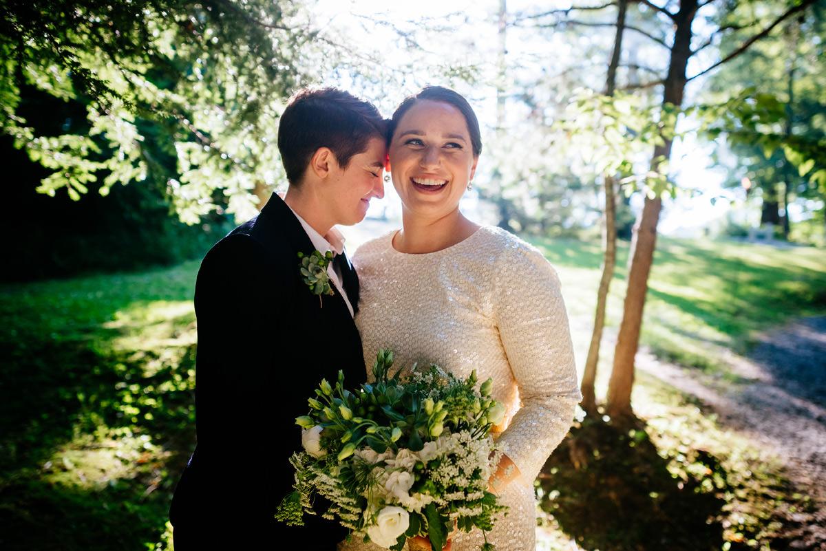 same sex wedding in wv confluence resort oberports