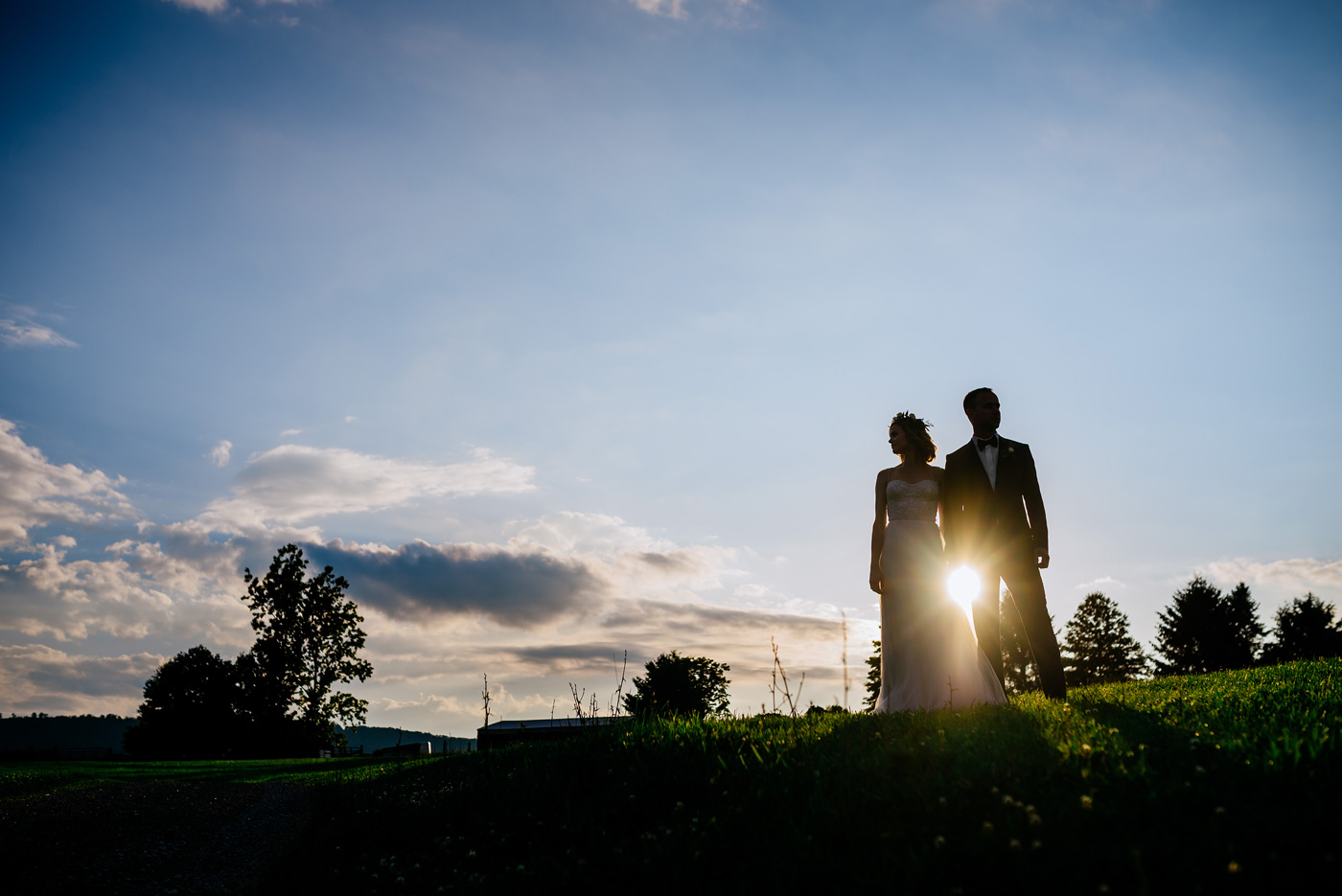 wv wedding silhouette