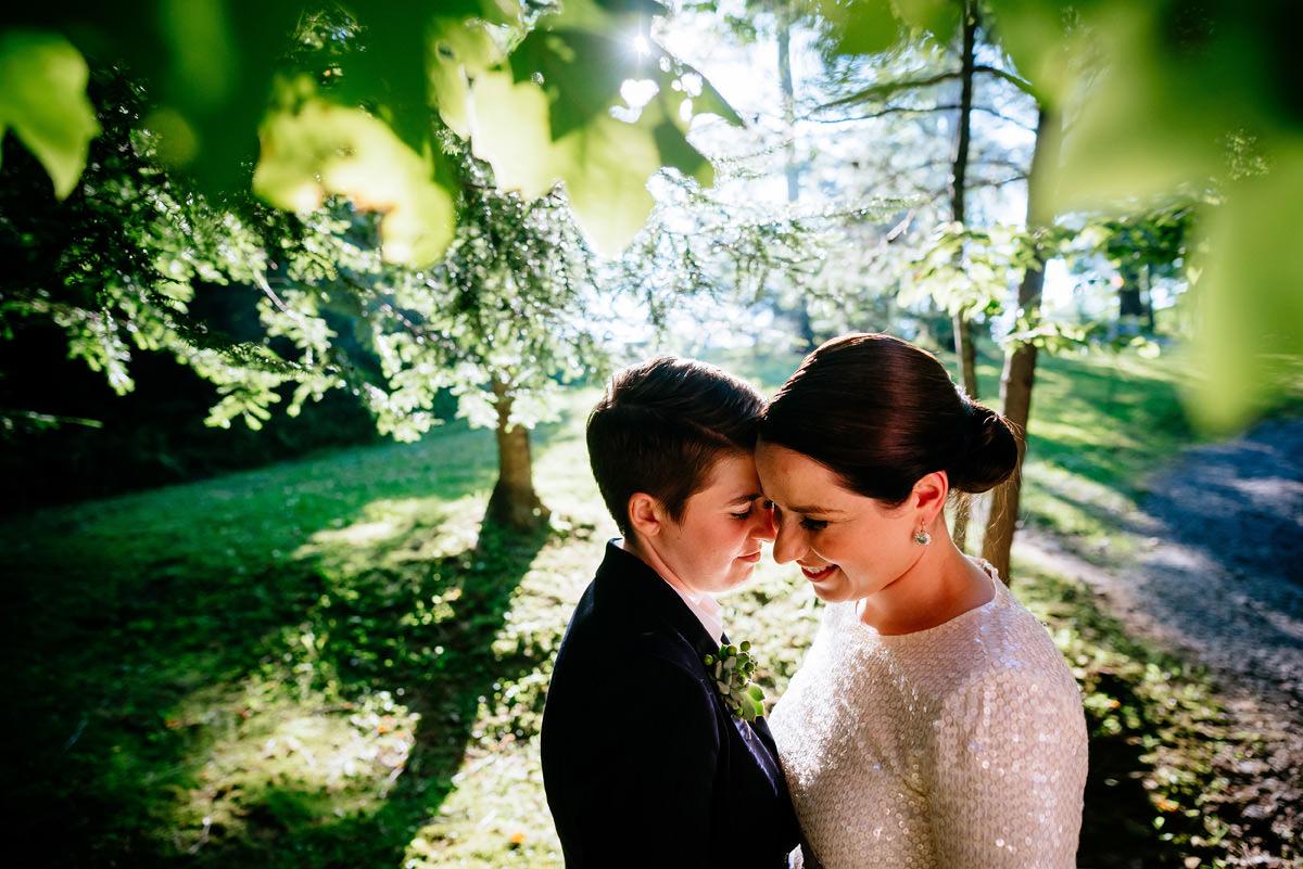 same sex gay lesbian friendly wedding photos in west virginia
