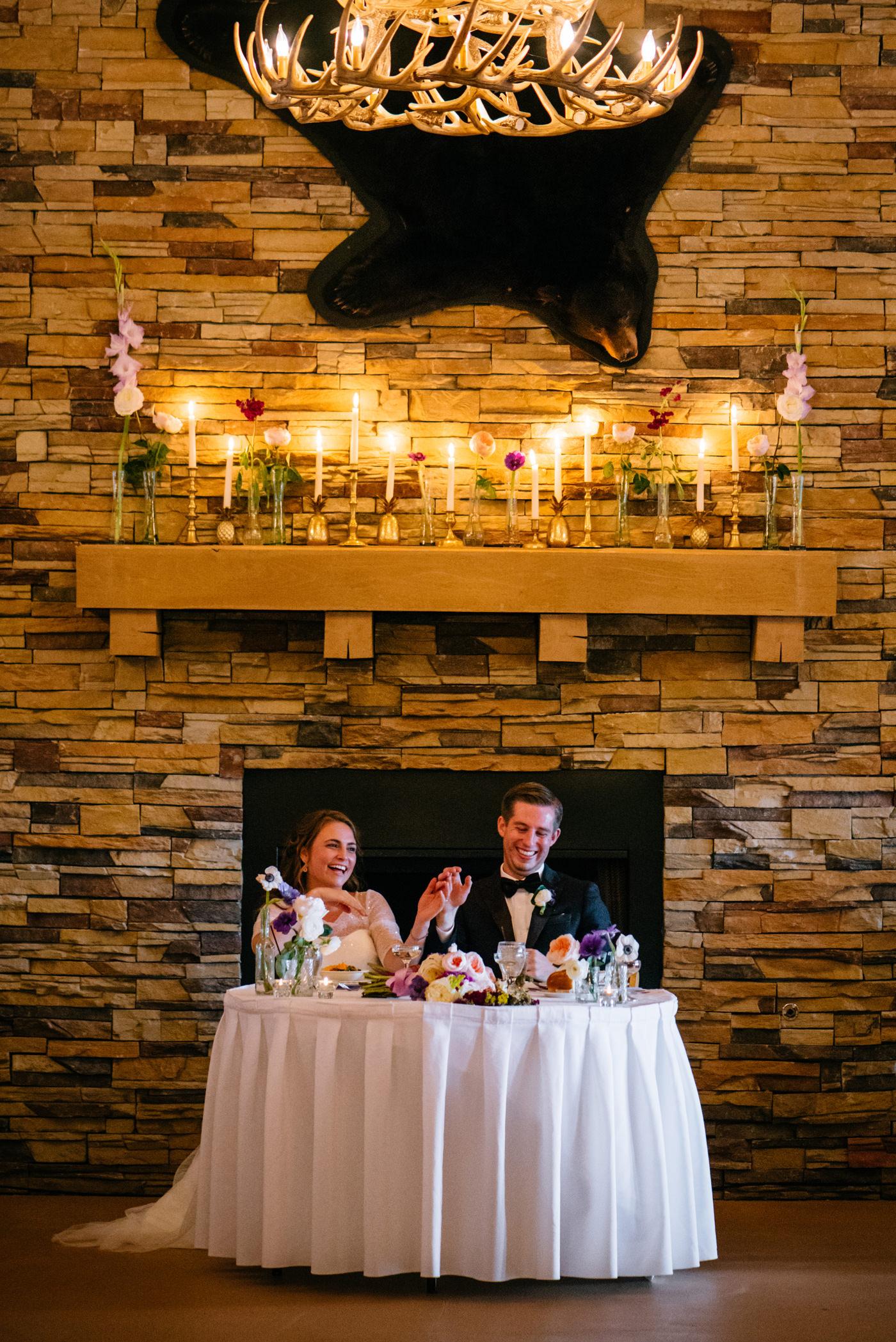 bear paw lodge wedding reception canaan valley west virginia