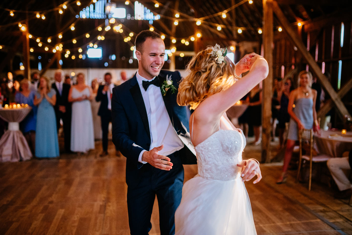 first dance at valley view farm lewisburg wv wedding
