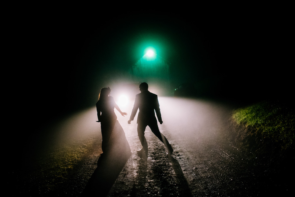 bride groom dancing in the dark silhouettes benedict haid by charleston west virginia wedding photographers the oberports