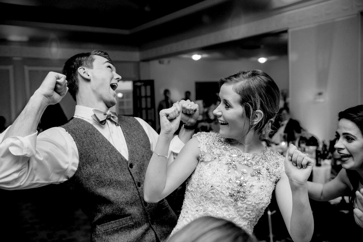 huntington wv winter wedding reception
