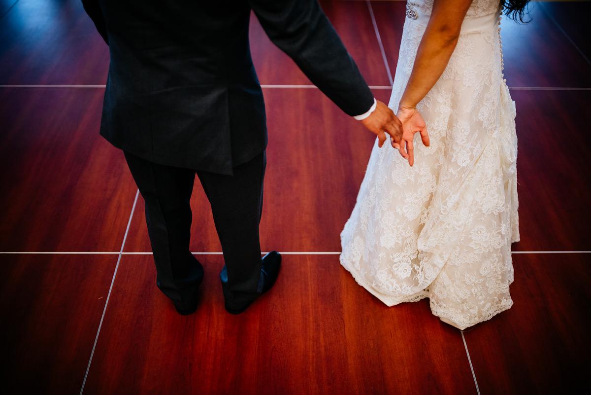 wedding reception candid moments