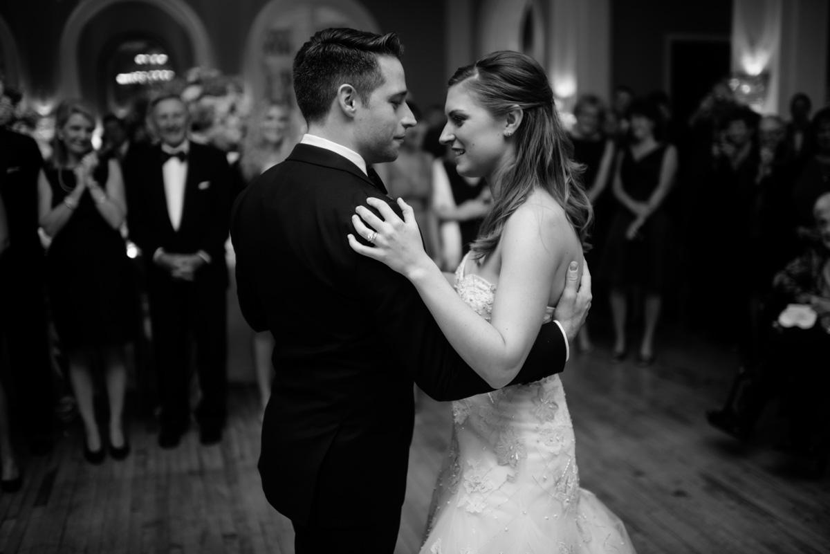 cameo ballroom greenbrier resort wedding reception first dance