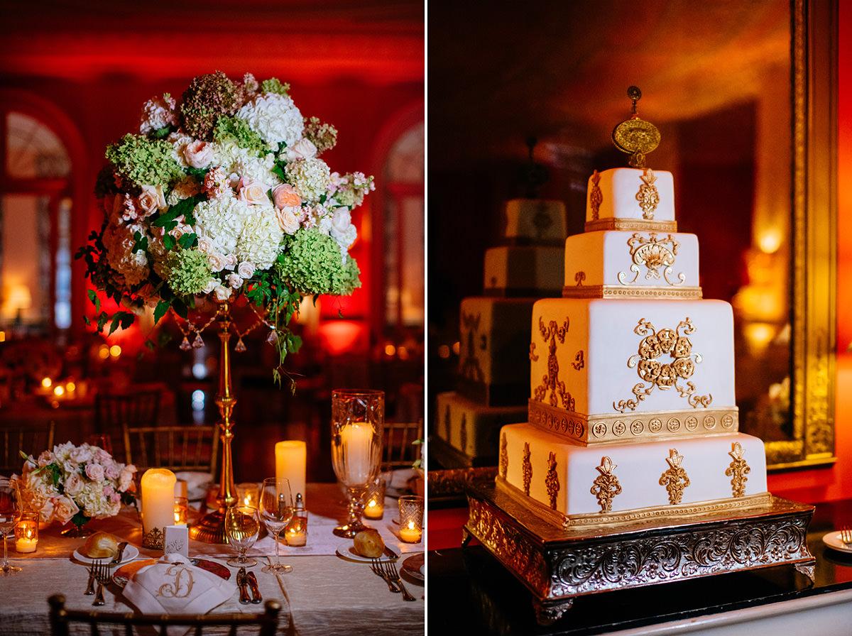 059a cameo ballroom greenbrier resort wedding reception details