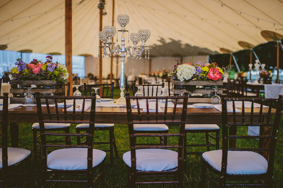 rustic farm wedding details tablescape