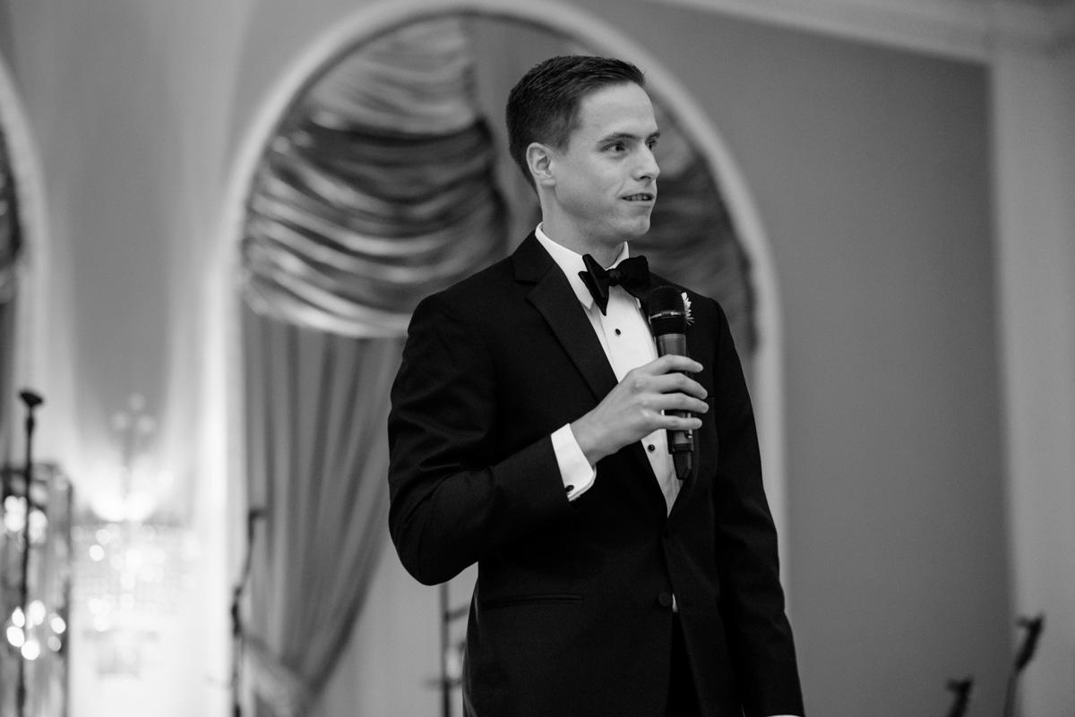 greenbrier resort wedding reception best man speech