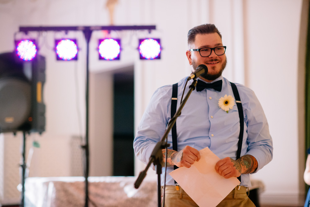 charleston wv womans club wedding reception best man toast