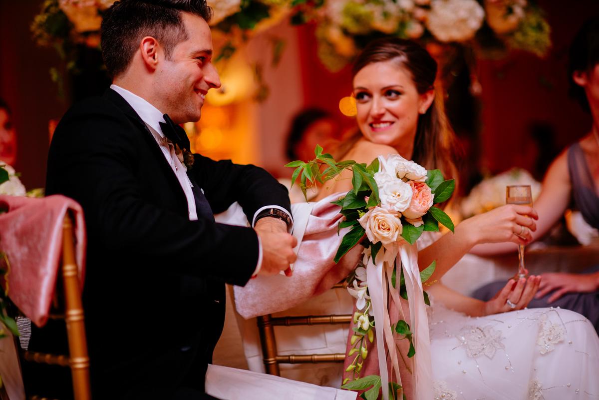 greenbrier resort wedding reception speeches