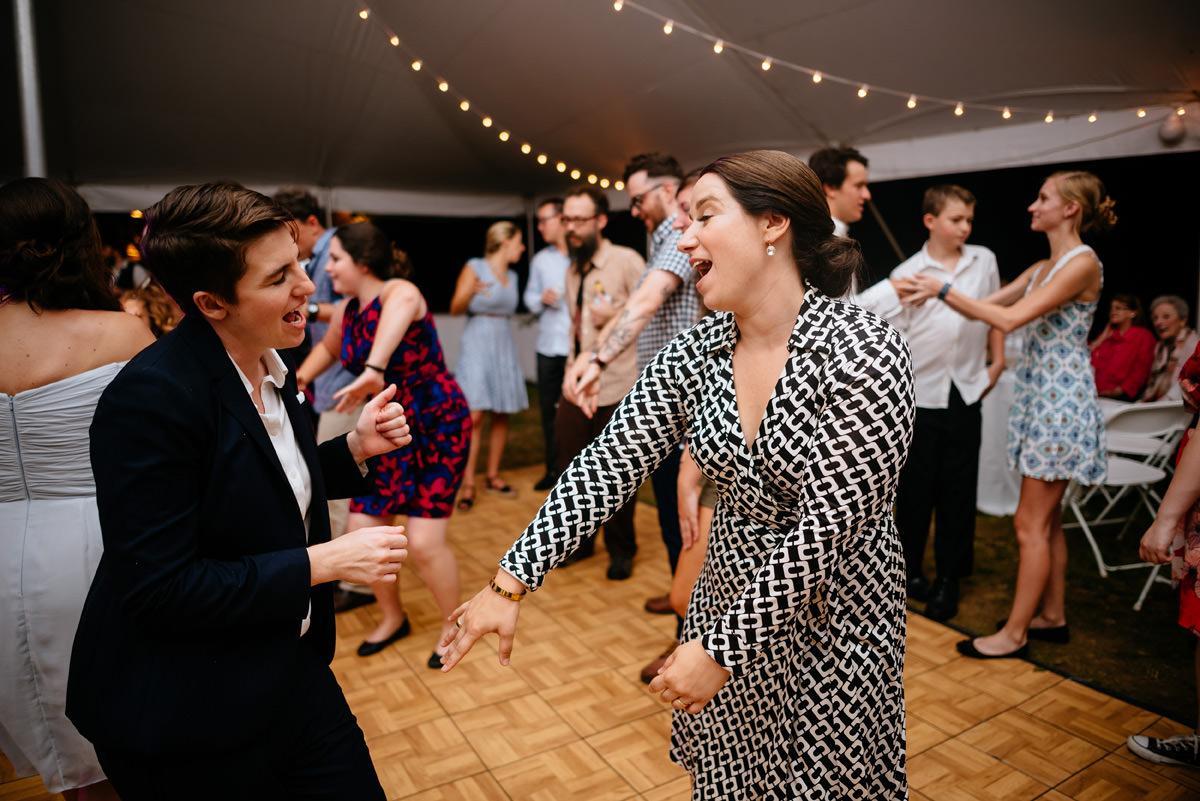 confluence resort wedding reception dancing