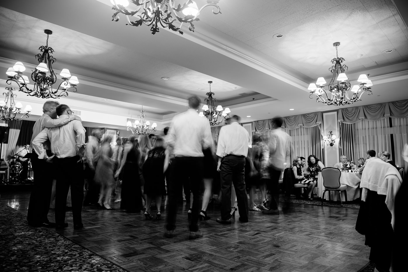 st clair country club wedding reception dancing