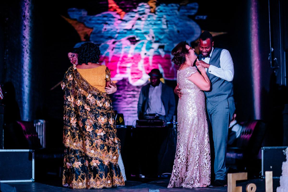parent dances wedding reception blind whino washington dc
