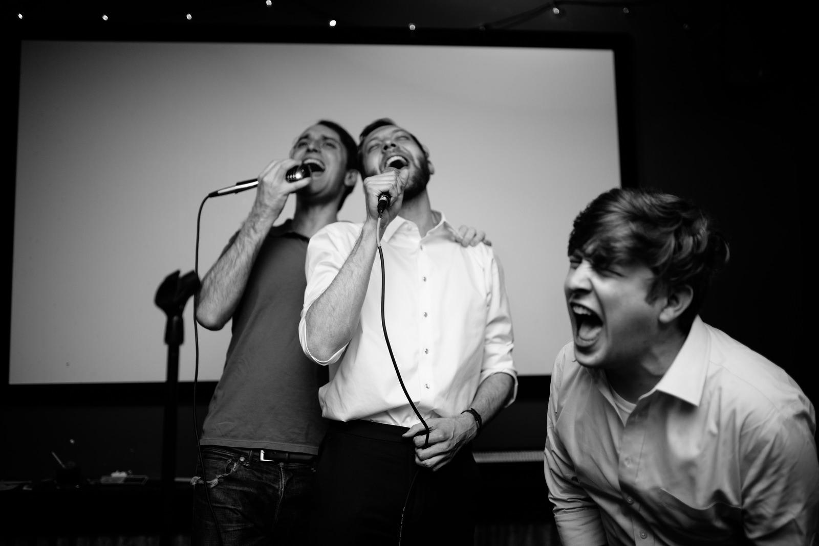 singing harvey danger karaoke wedding afterparty karaoke best friends bar lexington ky