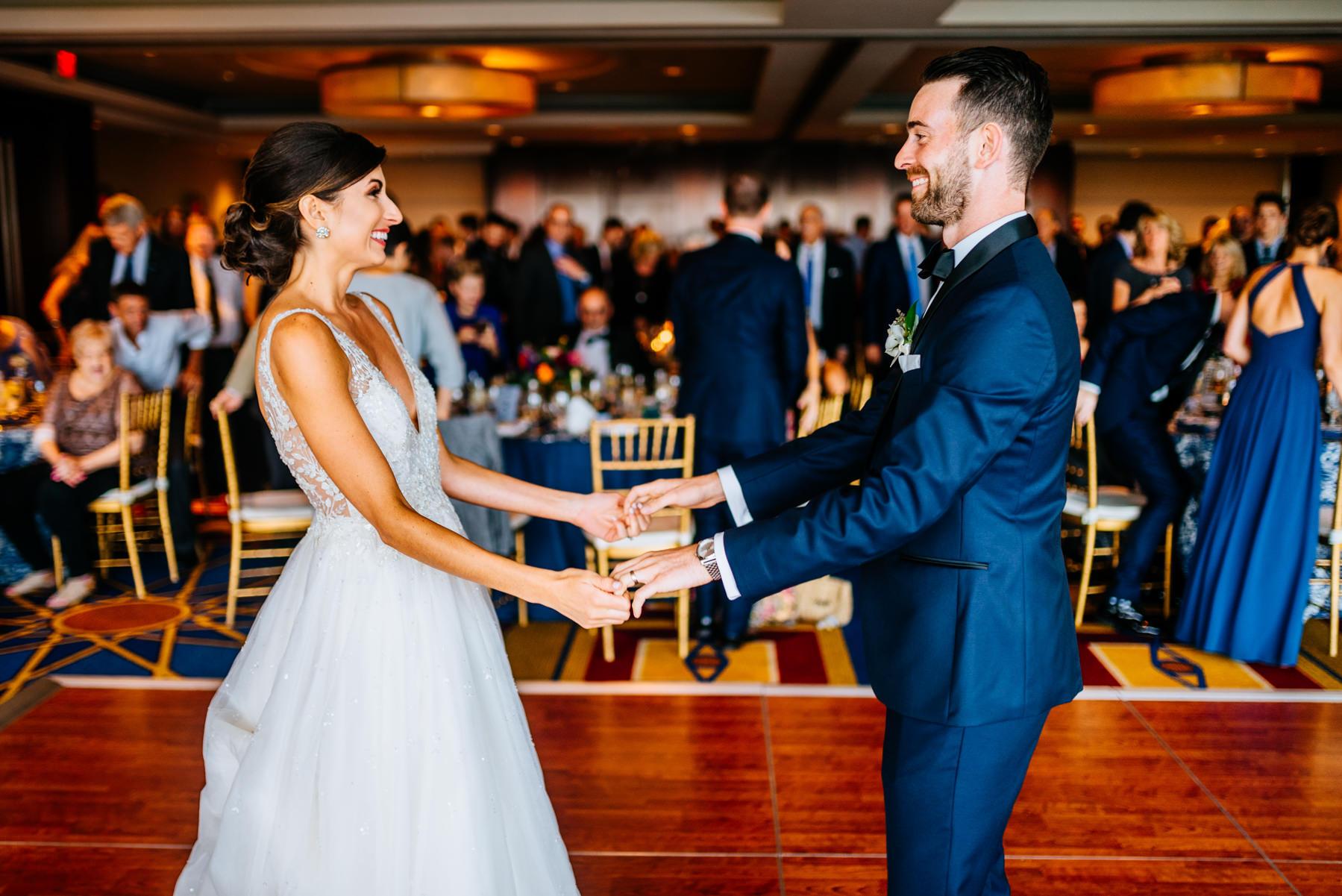 first dance key bridge marriott wedding