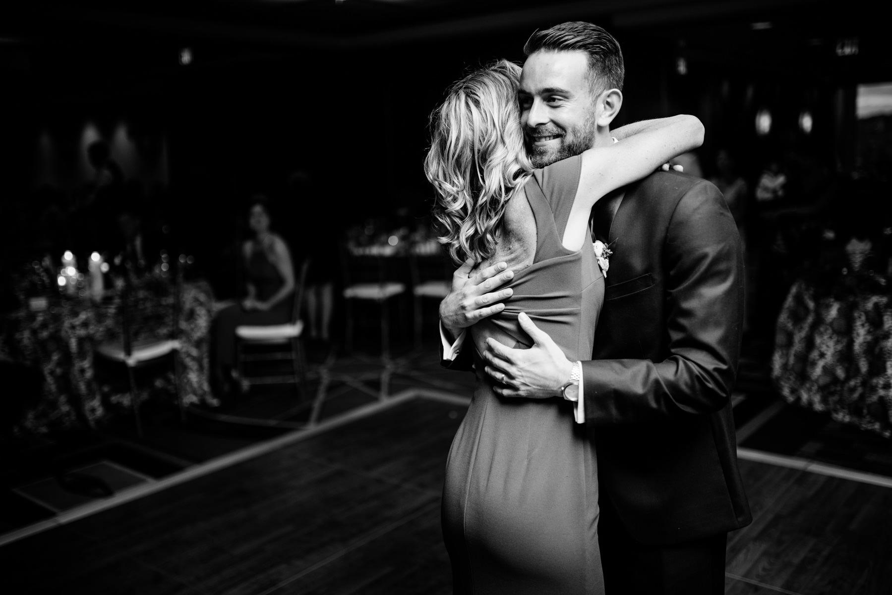 groom dance with mom